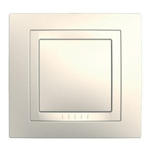 Рамка с декоративным Элементом, 1 Место Бежевый Schneider Electric MGU2-002-25