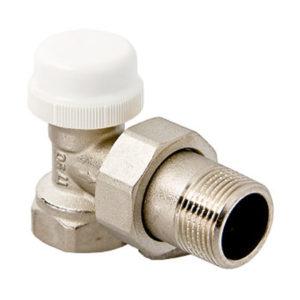 Клапан термостатический угловой