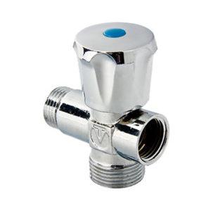 Вентиль-тройник бытовой для сантехнических приборов