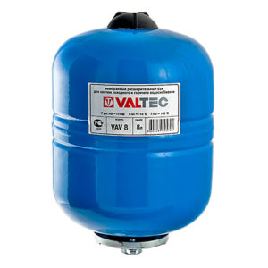 Мембранный бак для водоснабжения для ГВС и ХВС 150л с ножками