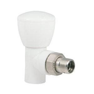 Клапан радиаторный полипропиленовый PPR угловой