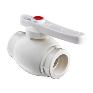 Кран полипропиленовый PPR для горячей воды