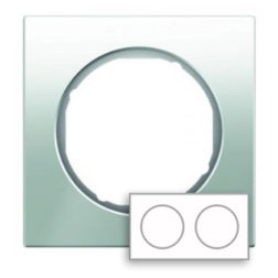Рамка, стекло, цвет: полярная белизна Berker R.3