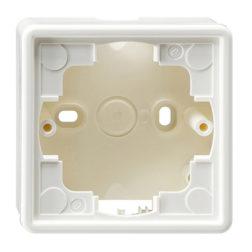 Рамка, белая для открытого монтажа 1 Gira S-color