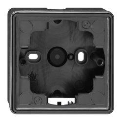 Рамка, черная для открытого монтажа 1 Gira S-color