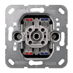 Вставка клавишного выключателя 2-полюсный выключатель Gira