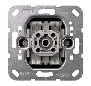 Вставка клавишного выключателя Перекрестный выключатель Gira