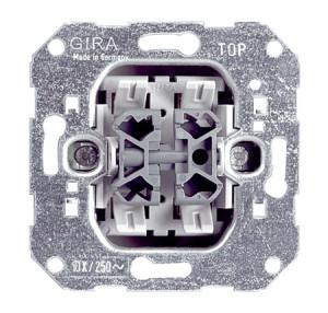 Вставка клавишного выключателя 3-клавишный переключатель Gira