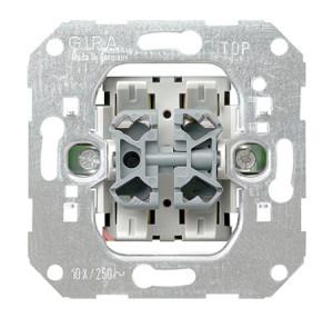 Вставка клавишно-кнопочного выключателя Клавишный переключатель / кнопочный переключатель Gira