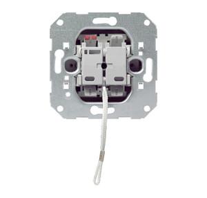 Вставка шнурового клавишного выключателя Универсальный переключатель Gira