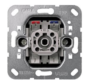 Вставка кнопочного выключателя 1-полюсный выключатель с замыкающим контактом с клеммой для нейтрали Gira