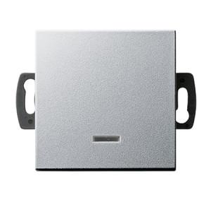 Кнопочный выключатель для малого напряжения до 42 В с подсветкой Gira