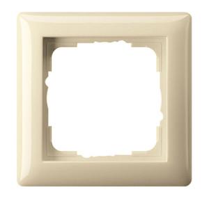 Рамка, кремовая глянец Gira Standart 55