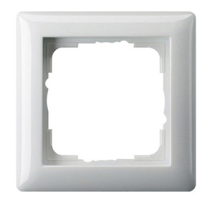 Рамка, белая глянцевая Gira Standart 55