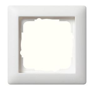 Рамка, белая матовая Gira Standart 55