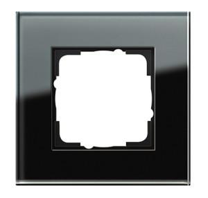 Рамка, черное стекло Gira Esprit