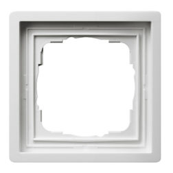 Рамка, белая Gira F100