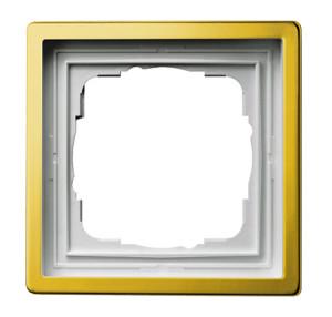Рамка, латунь Gira F100