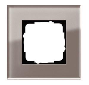 Рамка, дымчатое стекло Gira Esprit