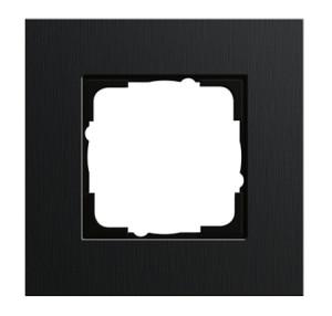 Рамка, черный алюминий Gira Esprit