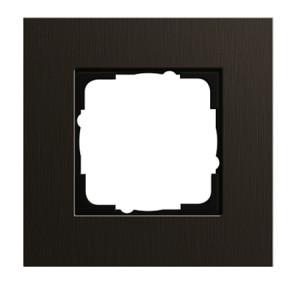 Рамка, коричневый алюминий Gira Esprit
