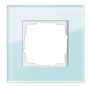 Рамка, салатовое стекло Gira Esprit