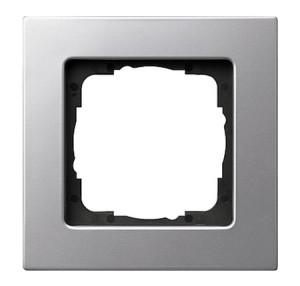 Рамка, алюминий Gira E22