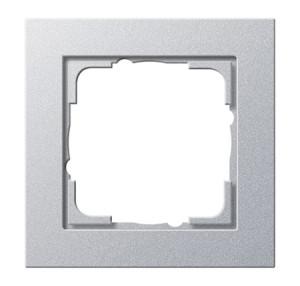Рамка, алюминий Gira E2