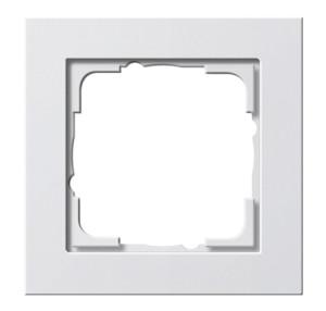 Рамка, белая глянцевая Gira E2