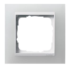 Рамка, белая полупрозрачная с белой вставкой Gira Event
