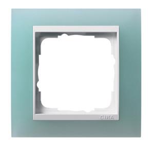 Рамка, салатовая с белой вставкой Gira Event