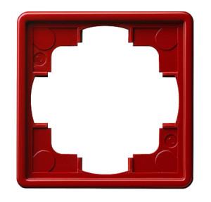 Рамка, красная Gira S-color