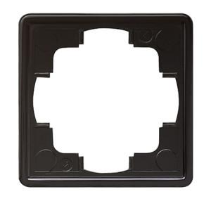 Рамка, черная Gira S-color