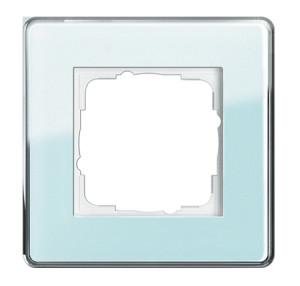 Рамка, салатовое стекло Gira Esprit Glass C