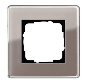 Рамка, дымчатое стекло Gira Esprit Glass C