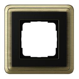 Рамка, бронза/черный Gira ClassiX
