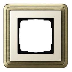 Рамка, бронза/кремовый Gira ClassiX