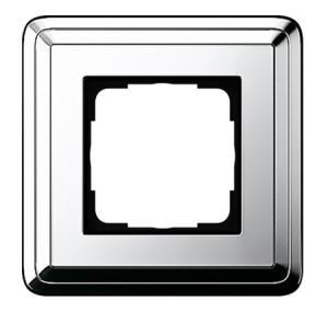Рамка, хром/хром Gira ClassiX