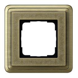 Рамка, бронза/бронза Gira ClassiX Art