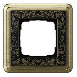 Рамка, бронза/черный Gira ClassiX Art