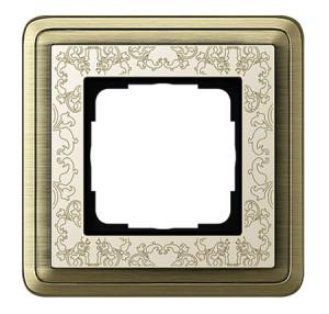 Рамка, бронза/кремовый Gira ClassiX Art
