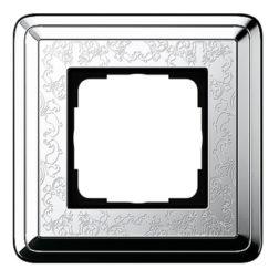 Рамка, хром/хром Gira ClassiX Art