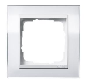 Рамка, белая с белой вставкой Gira Event Clear