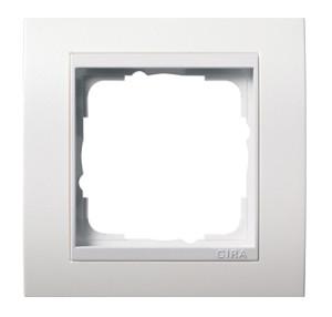 Рамка, белая глянцевая Gira Event
