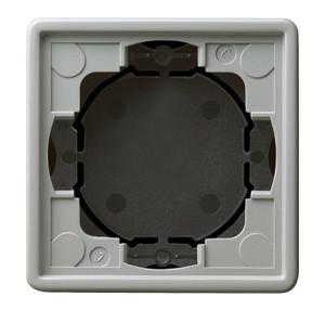 Рамка, серая для открытого монтажа 2 Gira S-color
