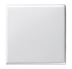 Клавиша одинарная белый глянец Gira