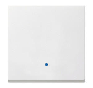 Сенсорная накладка для выключателей System 2000 белый глянец Gira