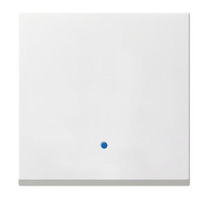 Сенсорная накладка для выключателей System 2000 белый матовый Gira