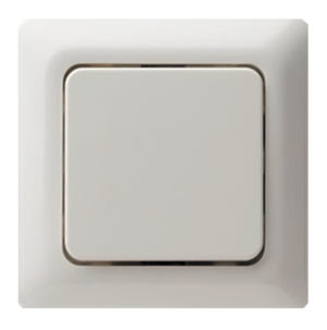 Рамкa, цвет: белый, с блеском modul 2 berker