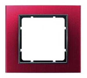 Рамка цвет: красный/антрацитовый B.3 Berker